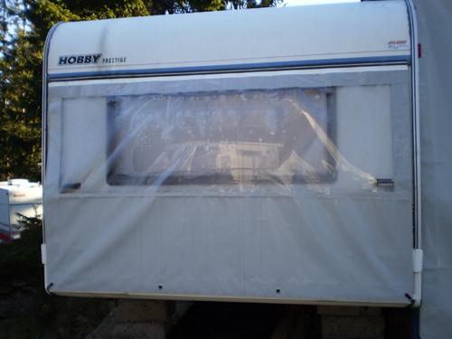 Presenning til campingvogn